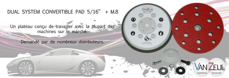Dual System convertible Pad