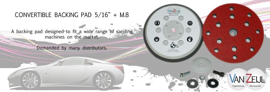 BACK UP PADS FOR THE AUTOMOTIVE INDUSTRY